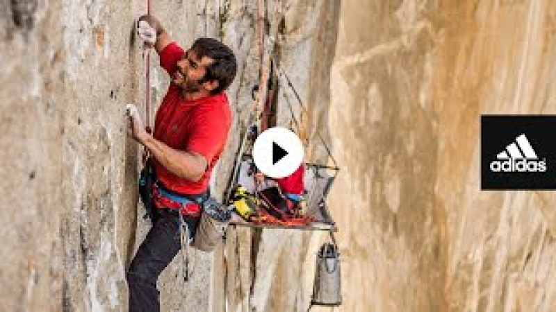 The Dawn Wall Kevin Jorgeson Yosemite adidas Outdoor