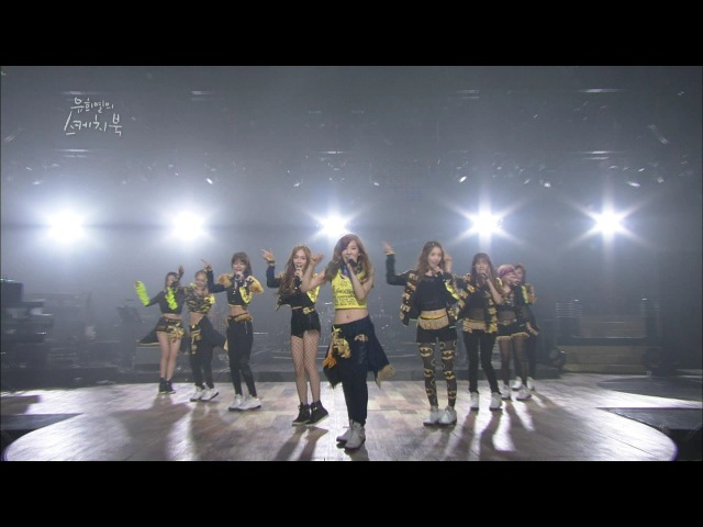 Girls' Generation 소녀시대 'Genie' 'Hoot' 'Gee' KBS 유희열의 스케치북 2013.01.18