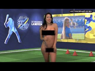 Телеведущая из Венесуэлы разделась во время эфира