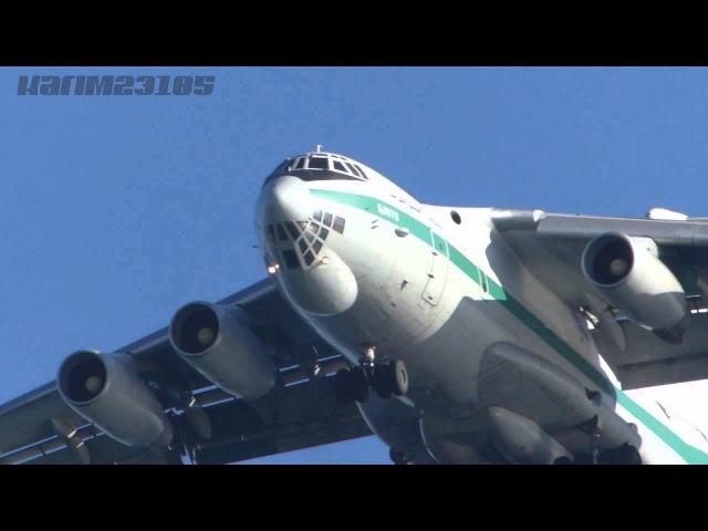 Armée Algérienne IL76 bousfer air base