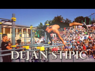 Workout strong elements Dejan Stipik  (Serbia)