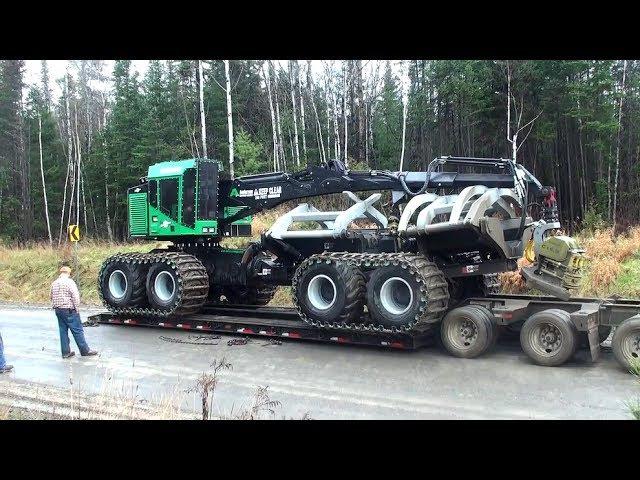 900 000 dollars TIMBERPRO TF830 FORWADER AMERICAIN DREAM MACHINES Métier de l'extrême