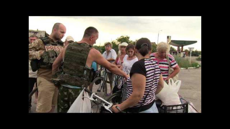 Telewizja Republika - UKRAINA W OGNIU - ŻYCIE NA LINII FRONTU - CZ .I