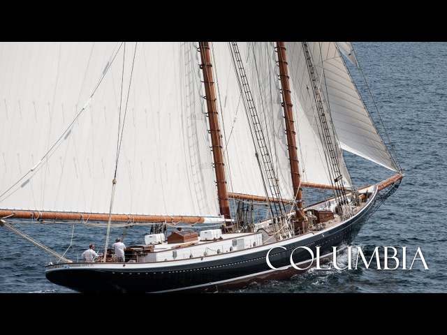 Columbia - 141' RacingFishing Schooner Yacht - Construction to Sea Trials