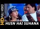 Husn Hai Suhana Ishk Hai Deewana   Abhijeet Bhattacharya   Coolie No.1   1995 Songs   Karisma Kapoor