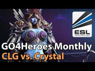 ► Heroes of the Storm Pro Play: CLG vs. Crystal - GO4Heroes Monthly