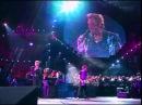 JOHNNY HALLYDAY - Que je t'aime (live symphonique) 1998 Stade de France