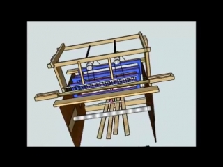Some ideas I have for making a weaving loom - Design #1,#2,#3,#4