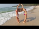 Маша Регеда и Оля Зайцева - Zouk на море в Тайланде