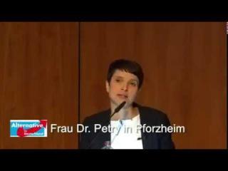 AfD Frauke Petry: Warum wir eine neue Politik brauchen. Livestream