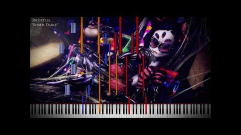 Black MIDI Undertale Spider Dance 77K Notes