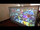 WHAT GAMING LOOK LIKE ON A QUANTUM LIGHT FUSION REAR PROJECTOR SCREEN!