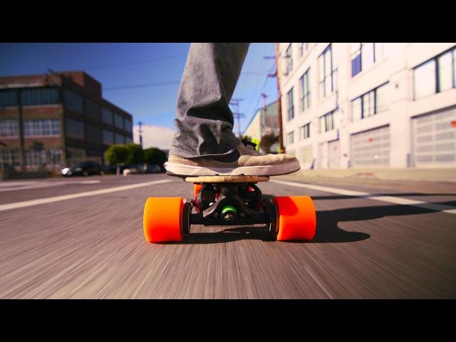 A skateboard with a boost Sanjay Dastoor