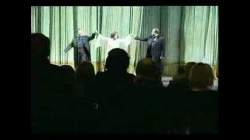 Anna Netrebko and Catherine Deneuve La Traviata 2007 in Spb