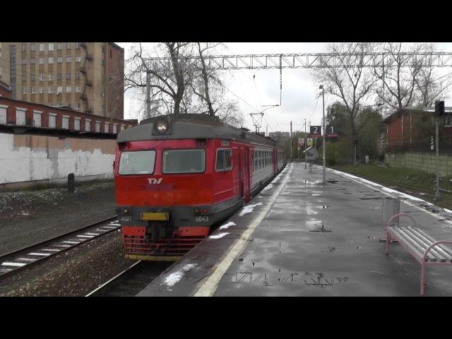 Электропоезд ЭД2Т-0043ЭД4М-0050 платформа Станколит