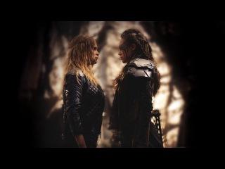 Every Clarke & Lexa Scene | The 100