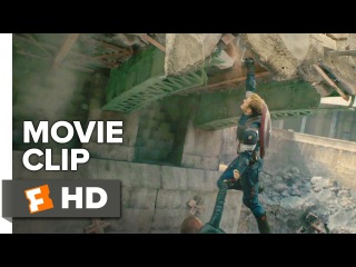Avengers: Age of Ultron Movie CLIP - Bridge Rescue (2015) - Chris Evans Superhero Movie HD