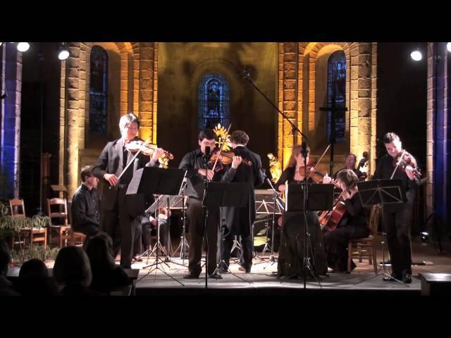 Vivaldi Concerto in B minor RV 580 for four violins Pham Gjezi Darmon Tudorache OCNE Krauze