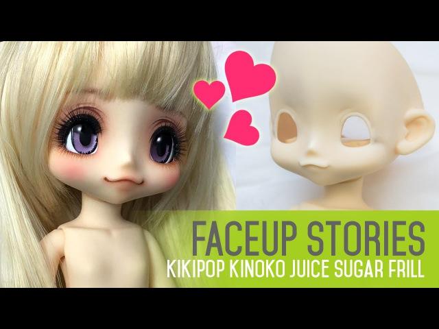 Repainting Dolls - Kikipop Kinoko Juice - Faceup Stories ep.40