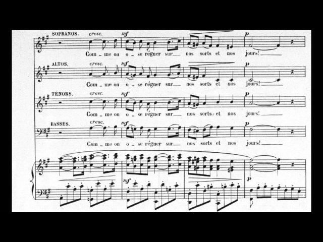 Faure Pavane Op 50 Choral version