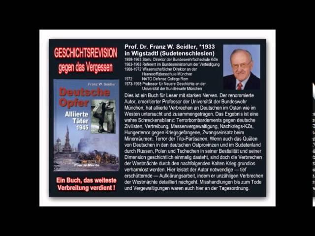 Geschichtsrevision - Prof. Franz W. Seidler