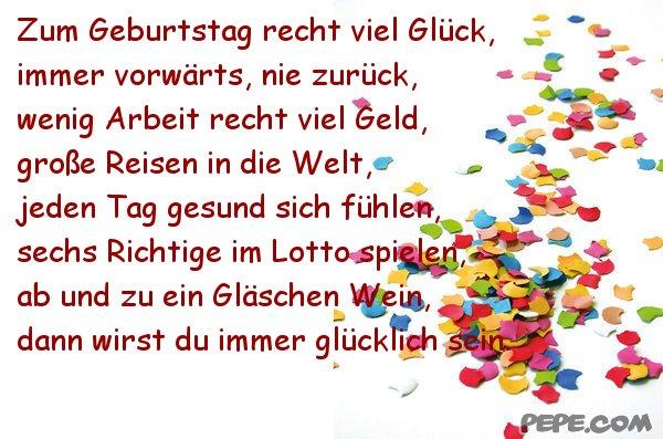Поздравление для друга с днем рождения на немецком