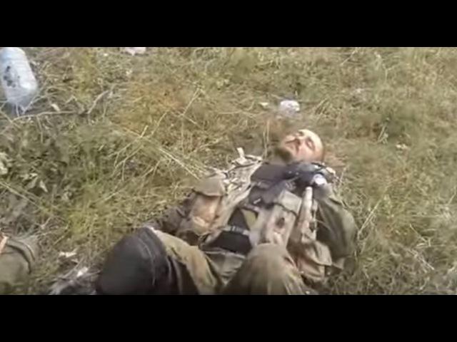 Бой под Углегорском Сепары мертвы позиции наши 08 2014