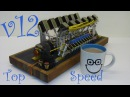 V12 Solenoid Engine - Speed Testing - 3,200 rpm