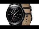 Samsung Gear S2 умные часы с круглым дисплеем и поворотным кольцом вокруг экрана