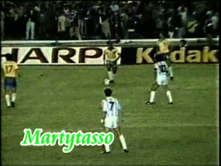 Romário Caneta em Maradona Argentina 0 X 2 Brasil Copa América 1989 - narração internacional