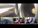 Air Koryo Ilyushin Il-62M FULL FLIGHT HD with all cabin and galley views! By [AirClips]