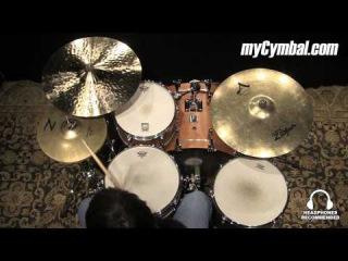 "Used Zildjian 13"" Z Dyno Beat Hi Hat Cymbals (UZZDB-1111214A)"