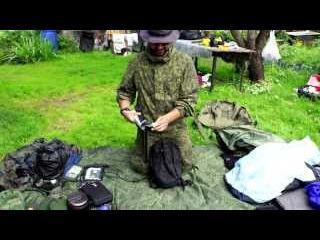 #19 Распаковка походного рюкзака. Что брал на сплав в Карелию
