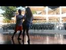 Ксюша танцует с JJ