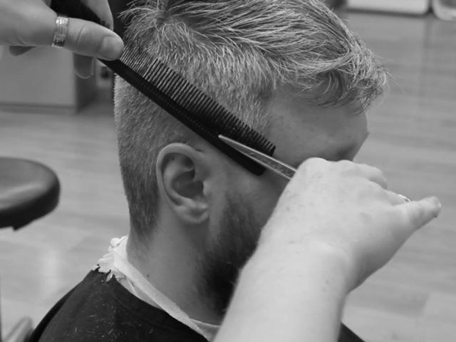 Мужская стрижка ножницами All Shears