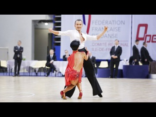 Simone Casula - Laura Marras | WDSF Paris Open Coubertin 2016 | IO LAT - solo Rumba