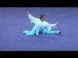 Wushu womens optional taijiquan (day 2) _ 28th sea games singapore 2015