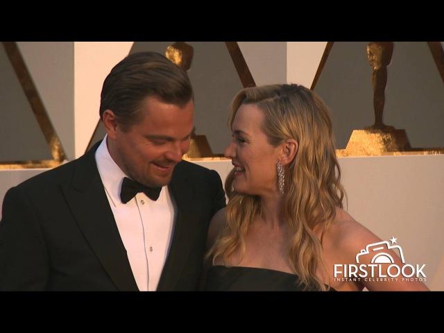 Kate Winslet and Leonardo DiCaprio Reunite at the 2016 Oscars JackAndRoseForever