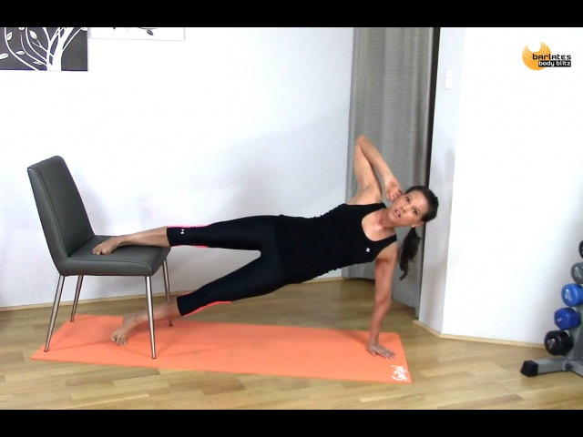 FREE ABS CORE WORKOUT Core with Chair BARLATES BODY BLITZ