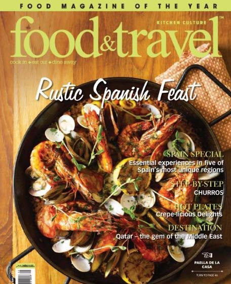 Food Travel August September 2016