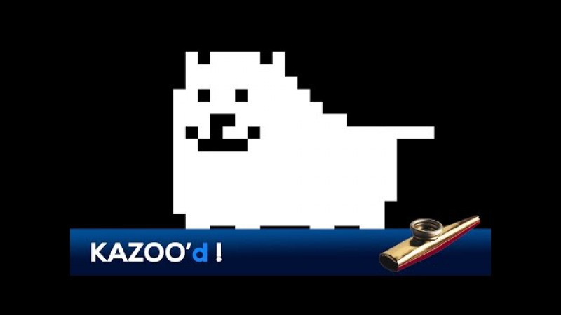 Undertale - Dogsong... KAZOO'd!