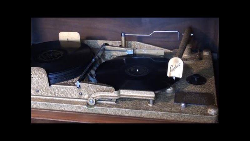 Capehart Amperion Record Changer 1930 A Detailed Look