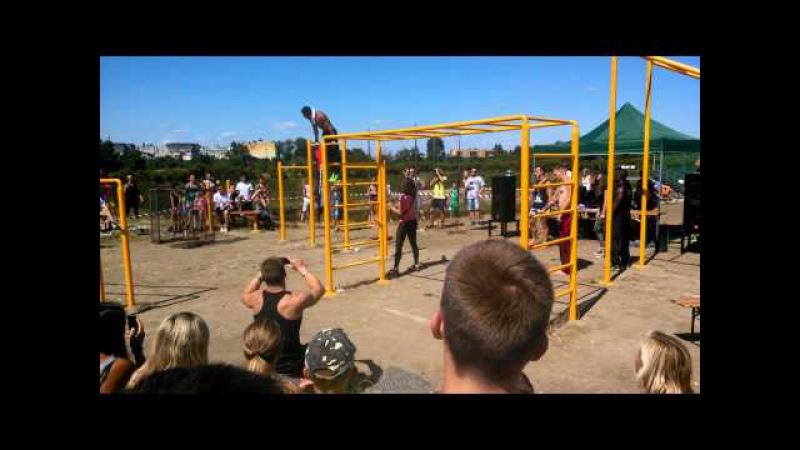 Czech Workout Battle 2015 Bodyweight Olomouc úvodní exhibice