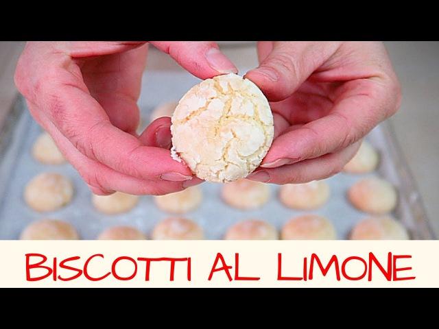 BISCOTTI AL LIMONE fatti in casa - Homemade Lemon Cookies