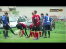 A waterlogged penalty spot in Bulgaria started an unbelievably silly physical confrontation