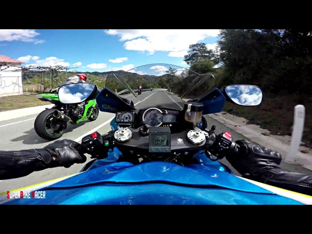 GsxR Rules Aggressive High Speed Road Racing Gyro Video