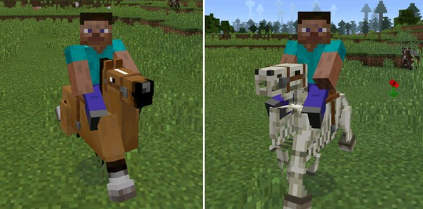 аддон на лошадей для майнкрафт пе 0.14.0 #8