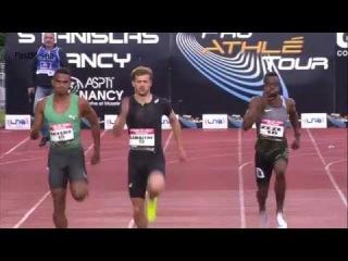 Christophe Lemaitre wins Men's 200m in Nancy 2016 HD