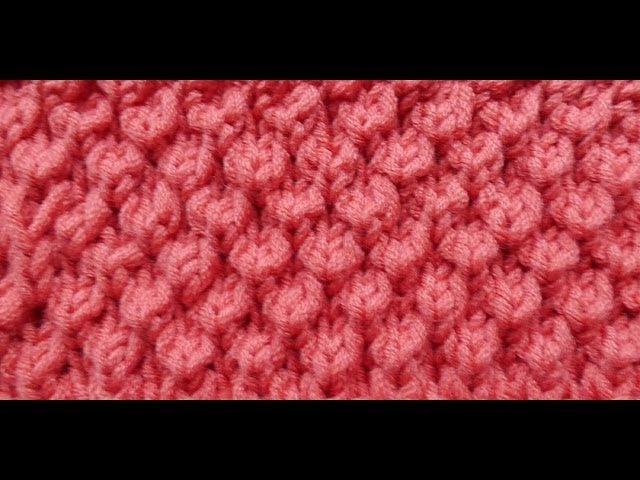 Knit with eliZZZa * Bobble Brioche * Knitting Stitch * Brioche Stitch