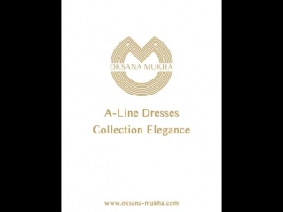 A-line dresses from elegance collection